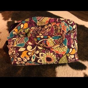 Vera Bradley small/medium size duffel bag